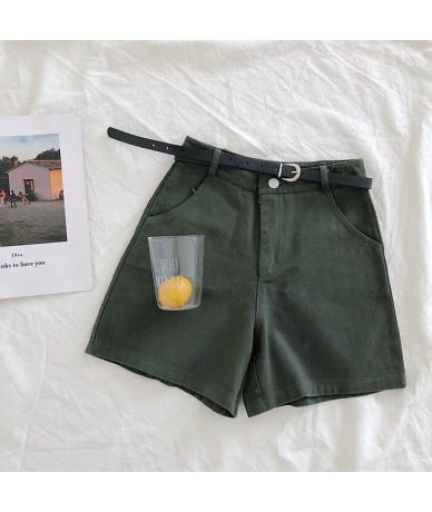 Slim Spring Fashion Ladies Basic Bandage Office Shorts Women Casual Summer Mini Short Pants High Waist OL Elegant Tie Shorts...
