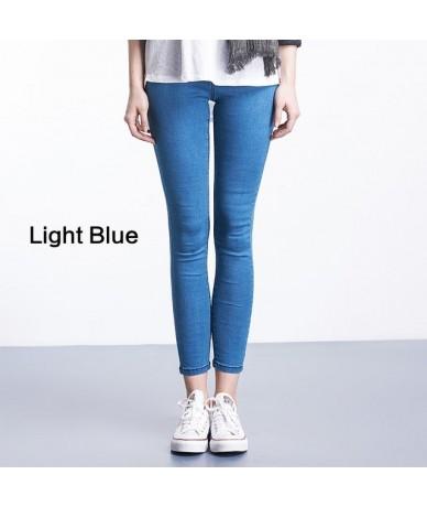 Casual Women Jeans Pant Slim Plus Size Denim Trousers for woman - 5290Light bule - 4A3926160948-2