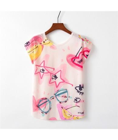 M-3XL Plus Size Flamingos T-shirts Women Summer Kawaii Tees Short Sleeve Tops Harajuku T Shirts Female Sexy Girl Clothing - ...