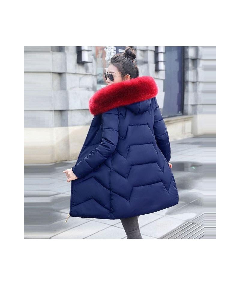 Big Fur 2019 New Parkas Female Winter Coat Women Plus size 6XL Winter Jacket Womens Outwear Parkas for Women Winter down jac...