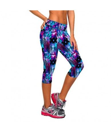 Leggings for Women Capris Leggins High Waist Elastic Exercise Female Elastic Stretchy Leggings Slim Trousers M-XXL - NQ4 - 4...
