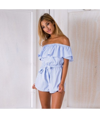 2018 Fashion Women Jumpsuits Rompers Casual European Style Summer Playsuits Elegant Harajuku Vintage Clothing Sexy - Style F...
