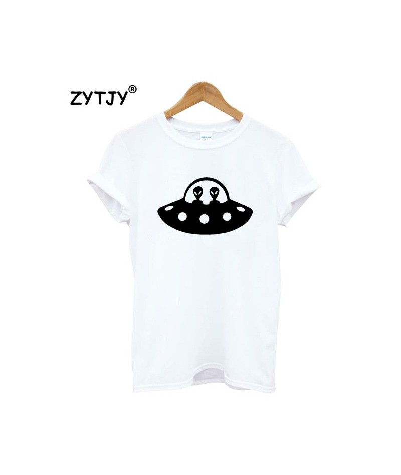 alien airplane Print Women tshirt Cotton Casual Funny t shirt For Lady Girl Top Tee Hipster Tumblr Drop Ship Z-1083 - White ...