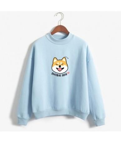 Women Harajuku Hoodies Cartoon Dog Shiba Inu Anime Printed Sweatshirt sudadera mujer moletom feminino Kawaii Pullover Top - ...