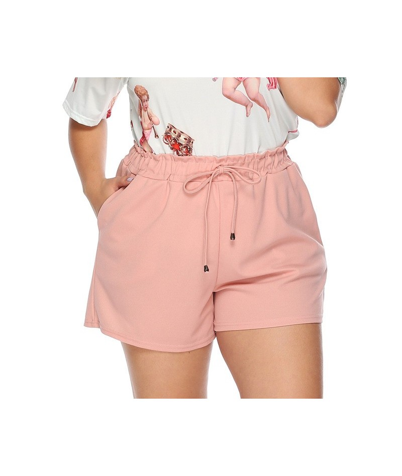 XL-4XL Summer Shorts Women Loose Plus Size Shorts Ladies Short Pants Women Polyester short femme été korte broek dames szort...