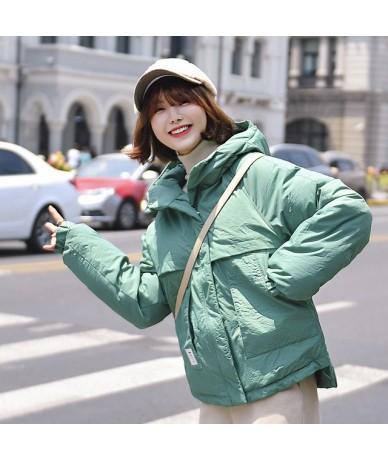 Down cotton women's short paragraph 2019 winter new bread service Korean version of the cotton fashion small cotton jacket -...