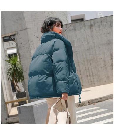 Winter Women's Down Cotton Padded Jacket Women Wadded Jackets Warm Coats Short Parkas Oversized Loose Outerwear Coats Female...