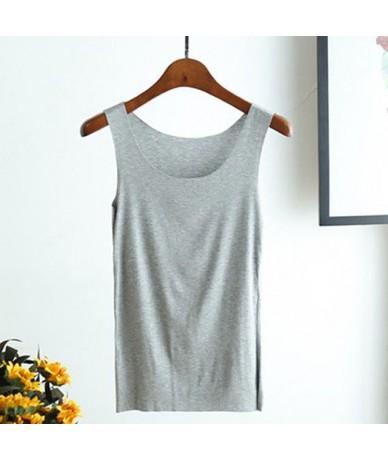 Seamless Vest Round neck sling female summer wear inside modal bottoming shirt large size sleeveless shirt - 5 - 4R3087693709-5