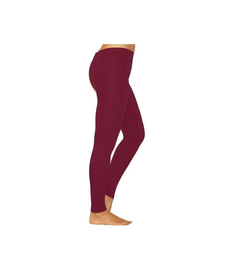 2019 Solid Leggings Women Fashion Low Waist Workout Polyester Leggings Jeggings Slim Fitness Leggings Trousers For Women - w...