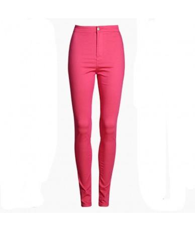 XS-XXL Fashion High Waist Jeans Femme Sexy Slim Skinny Jeans Woman Elastic Pencil Pants Female Denim Jeans For Women 9 Color...