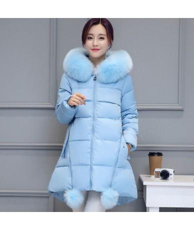 Plus Size 5XL 6XL Winter Jacket Women Coat Parka Hooded Warm Thicken Jacket Coat Long Sleeve Outerwear Winter Women's Coat Q...
