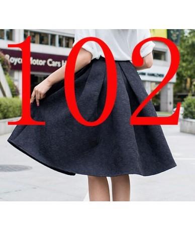 New Faldas 2017 Summer Style Vintage Skirt High Waist Work Wear Midi Skirts Womens Fashion American Apparel Jupe Femme Saias...