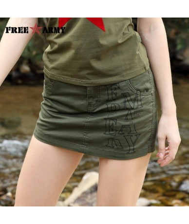 Women Short 2017 Summer Fashion Style Sexy Ladies Shorts Skirt Plus Size Mini Skorts Female Army Green Color Women Shorts Sk...