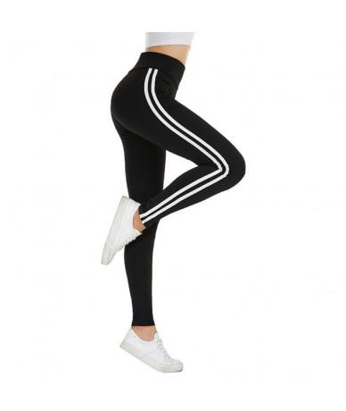Women Camo Legging Two Side White Stripes Skinny Leggings Elastic Waist Women Stretchy Workout Leggings Casual Leggings Fitn...