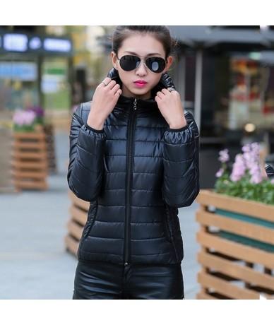 2018 New Winter Jacket Women Autumn Hooded Coat Female Spring Jacket Women Padded Cotton Parkas Casual Thin Light Basic Jack...
