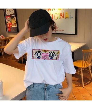 Sailor Moon T Shirt Kawaii Summer Women T-shirt Harajuku Sweet Print Short Sleeve Ullzang Tshirt Female Top Tees shirts grap...
