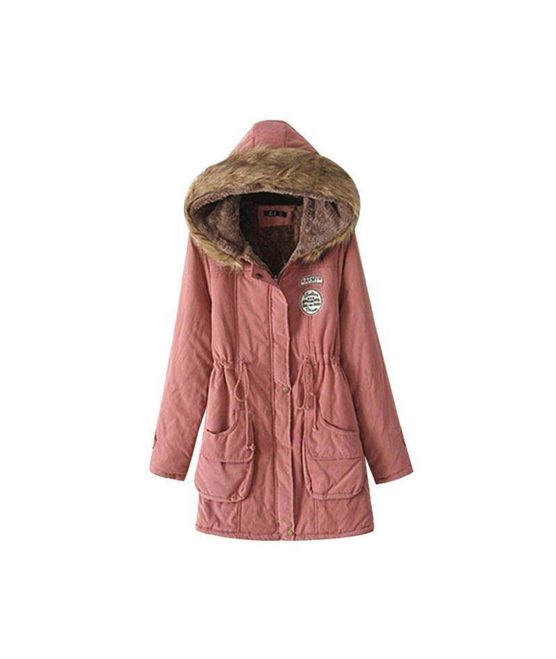 Women Winter Parkas Female Coat Thickening Fashion Womens Outwear Parkas for Women Cotton Winter Jacket Winter - color 2 - 4...