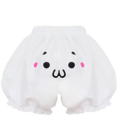 Japanese Kawaii Lolita Shorts Harajuku Pumpkin bud bloomers Cosplay Shorts Expression Face Women Shorts 6 Styles - D - 4W382...