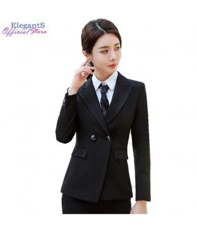 Formal Pant Suits Women Blazer Set Office Lady Business Work Uniforms Jackets Pants Female Black Trousers Plus Size 2019 4XL...