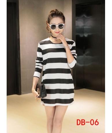 New 2019 autumn winter women Women mini dress long sleeve Loose Casual tunic o-neck dresses tops print black elegant - 6 - 4...