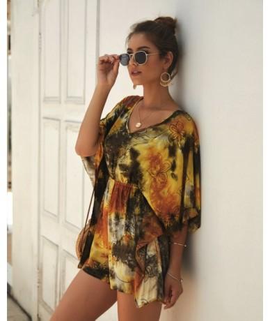 2019 Sexy Zipper Women Playsuits Bodysuit Jumpsuits Vintage Ladies Clothing Combinaison Femme Overalls Summer Beach Rompers ...