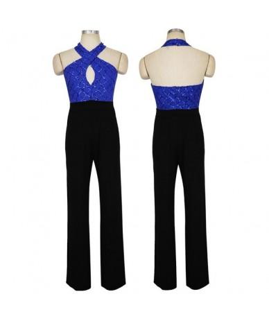2019 New Listing Summer Gold Sequin Mosaic Bodysuit Women Sleeveless Backless Sexy Macacao Feminino Bandage Party Jumpsuit -...