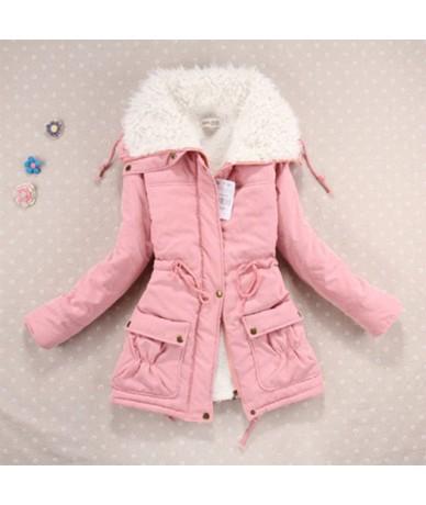 Women jacket 2019 new cotton warm winter women coat loose large lapel cotton jackets women parka winter jacket female coat -...
