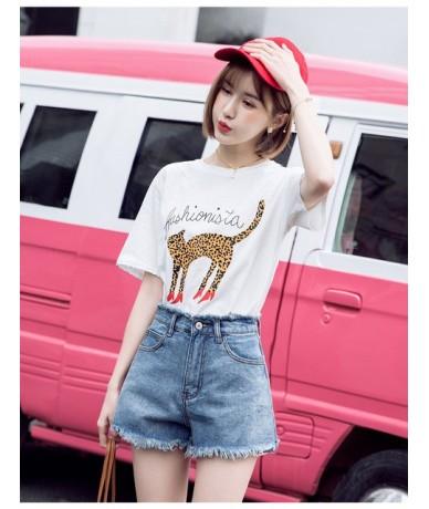 Summer Hot Sale Denim Women Shorts High Waist Wide Leg Shorts Plus Size Sexy Tassel Short Jeans Biker Shorts Plus Size Haraj...
