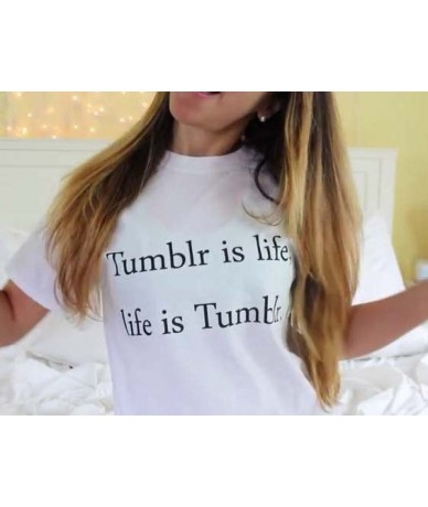 New Women Tshirt Last Clean Eat A Lot Sleep A Lot Letter Cotton Casual Funny Shirt For Lady White Top Tee Hipster Street ZT-...