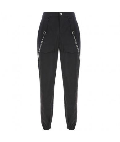 Cargo Pants Women Pants Pockets Paneled Joggers New Hip-Hop Harem Pants Stitching Trousers Pantalones Mujer Cintura Alta FD ...