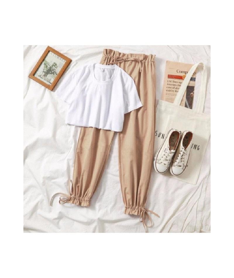 Two piece set tracksuit women summer clothes for women new Korean 2 piece set women casual Harem pant suit student Harajuku ...