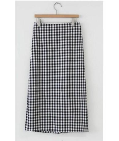 2019 Girls Skirts Cute Sweet Hot Women Japan Korean Preppy Style Design Vintage Green Black High Waist Plaid Skirt 321 - Bla...