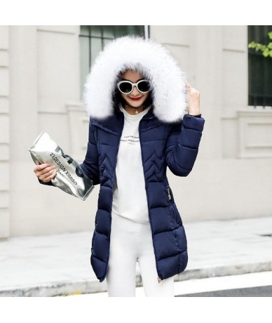 Winter Jacket Women Plus size 2019 New Ukraine 6XL Womens Down Cotton Thicker jackets Hooded Winter Coat Female Long Parkas ...