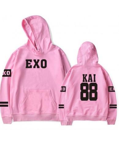 Korean Kpop Exo Hoodies Men Women Harajuku Fleece Long Sleeve Pullover Hooded Sweatshirts Hip Hop Tracksuit Brand-Clothing 4...