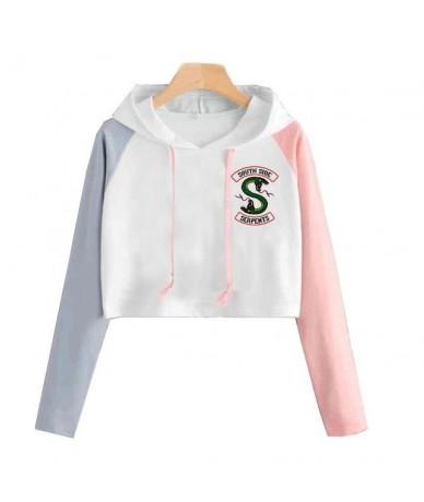 Riverdale Hoodie Sweatshirts South Side Serpents Streetwear Tops Spring Hoodies Female Hooded Harajuku Autumn Winter Sweatsh...