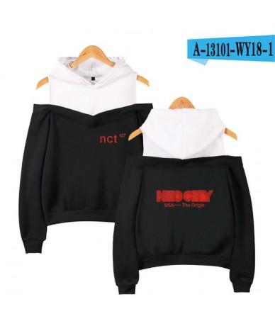 Nct 127 Kpop Off Shoulder Hoodies Women Fashion Long Sleeve Hooded Sweatshirts 2019 Hot Sale Casual Trendy Streetwear Clothe...