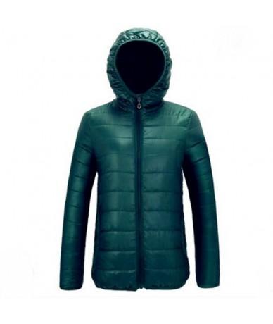 2019 Winter New Korean Stand Collar Slim Parkas Light Thin Feather Cotton Women Short Jacket Fashion Wild Warm Coat - Dark g...