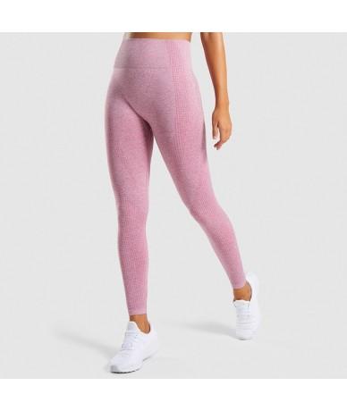 Seamless Leggings Women Fitness Leggings For Women Jeggings Sportswear Femme High Waist Exercise Leggings Women - Pink - 4F3...