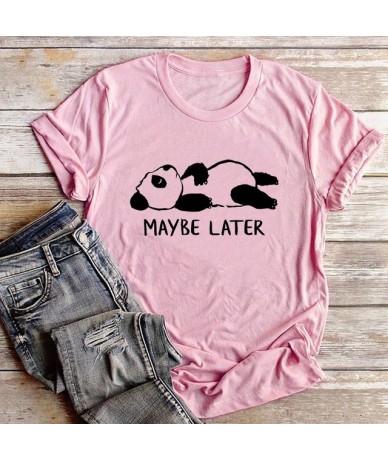 Clearance Sale!!! 2019 Fashion Women's Tshirt Lovely Panda Women tee Shirts 100% Cotton O-Neck Short Sleeve T-Shirts Summer ...