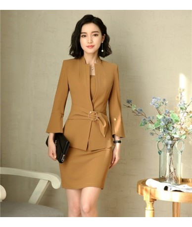 New Style Fashion Black Blazers Women Jackets Ladies Work Wear Business Clothes Office Uniform Design - Picture color - 4S39...