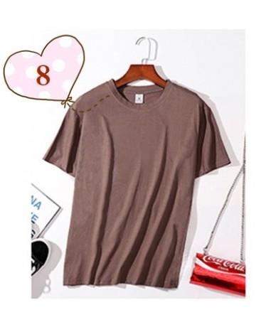 T shirts Women 2019 New Summer Casual Tshirt Tops Short Sleeve O-neck Ladies Black White T-shirt high quality Top Plus size ...