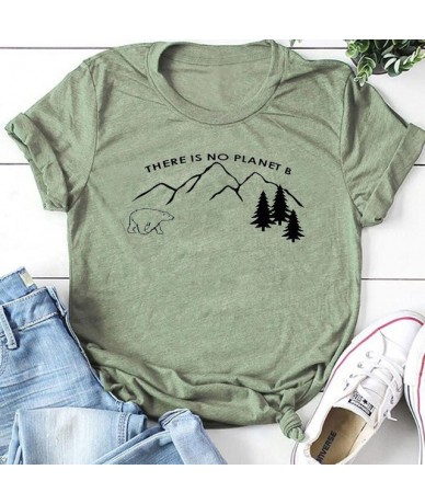 Shipping in 48 Hour Tumble Stretch Elastic Graphic Gift Casual women t-shirt There Women Loose Size tshirt - BLgreent - 4C41...