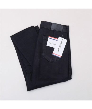 autumn jeans women Black jeans Vintage High Waist Denim women spring Denim pants high elastic Skinny Pencil Stretch Jeans Fe...