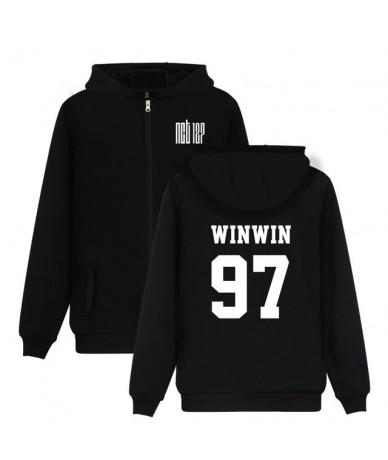 Fashion Kpop NCT U 127 Album Zipper Hoodies Men Women Idol Group Fleece Sweatshirt Member Name Print Fans Tracksuit - 97 WIN...