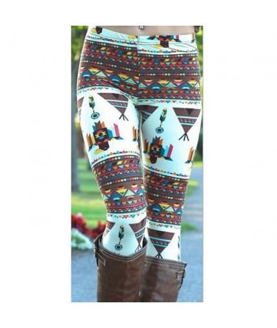 Christmas Snow Elk Leggings Women Lady Casual Elasticity Skinny Printed Stretchy Pants Leggings Plus Size 4XL - 7 - 4P305956...
