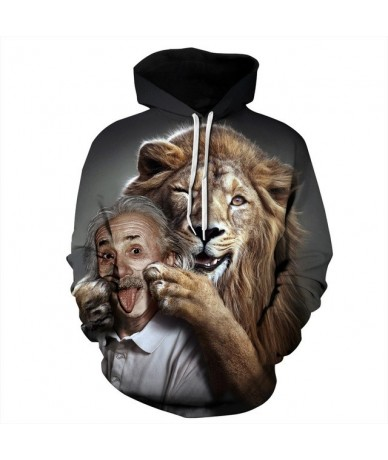 Lion digital printing couples wear sports fitness clothing wholesales and dropshipping - QYDM310 - 4N4139772339-4