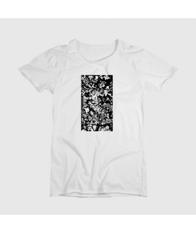 Graphic T Shirts Tops T Shirt Women Tshirt Women Off White Brand Kawaii Shirt Star Printed Shirts Vintage - Blue - 4M3007468...