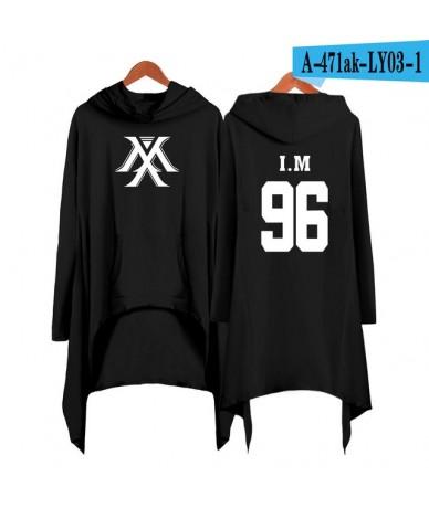 Drop shopping Monsta x dress fashion 2019 women Hooded sweatshirt Monsta x kpop clothes pullover - black - 4S4111249143-16