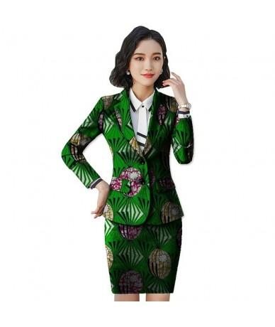 African Women Clothing Print Suit+Skirt 2 Pieces Festive Ladies Women Skirt Suits Fashion Suit Jacket Tailored Festive Costu...