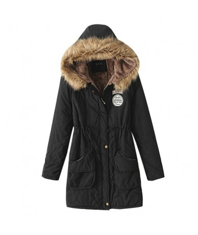 Female Winter Coat Thickening Cotton Winter Jacket Fashion Womens Outwear Parkas for Women Winter 2019 New Parkas Women - St...